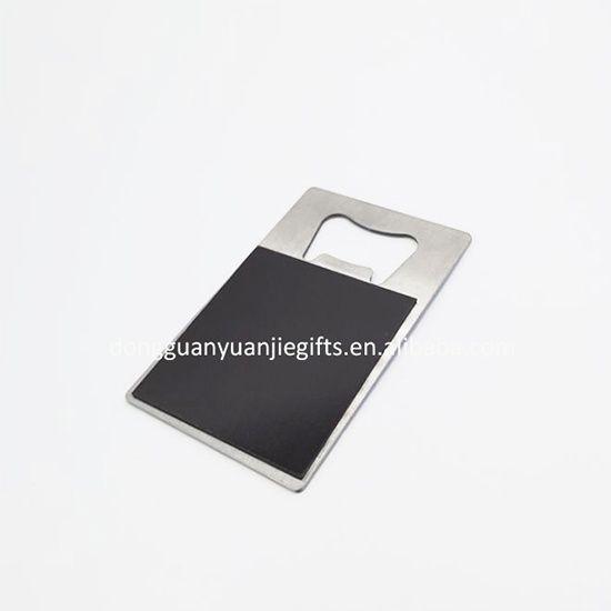 digital printing metal bottle opener with megnetic